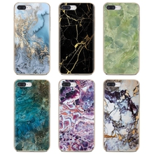 Silicone Phone Skin Case Black gold Marble Stone For iPhone iPod Touch 11 12 Pro 4 4S 5 5S SE 5C 6 6S 7 8 X XR XS Plus Max 2020
