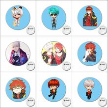 1pcs Game anime Mystic Messenger Cosplay Badge Cartoon Pins Brooch for Clothes Accessories Backpacks bags Button Badges