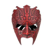 1pcs Resin Halloween Mask Masquerade Fancy Dress Party Cosplay Costume Scary Mask for Adult Warrior Mask Festive Party Supplies