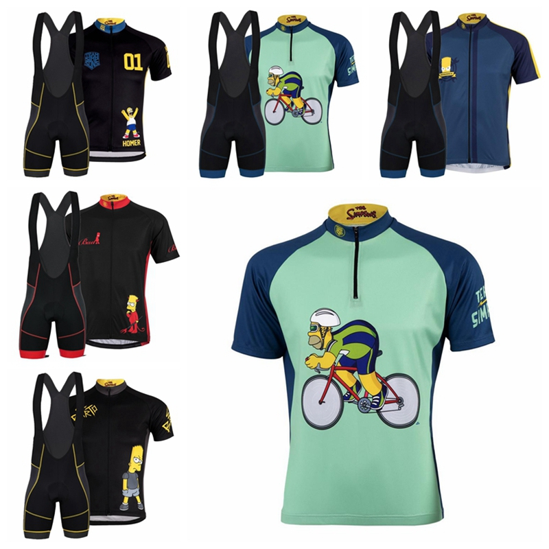 Cut Price Simpson Cycling Jersey Men 2020 Summer bicycle riding tops Camisa de bicicleta Team Pro short sleeved cycle wear Maglia ciclismo 4000260069062