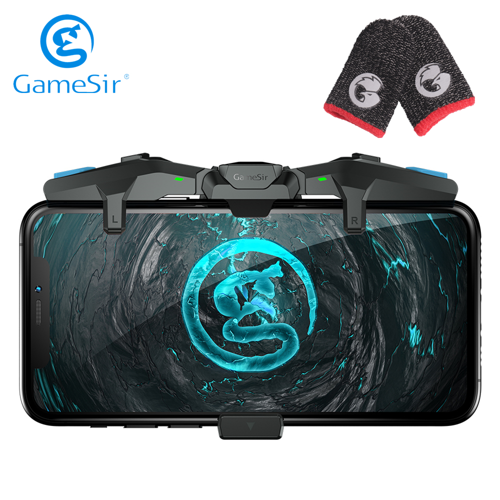 GameSir F4 Falcon PUBG Mobile Controller Gamepad   Talons Finger Gloves 1 Pair of Professional Thumbs Sleeve for Call of Duty