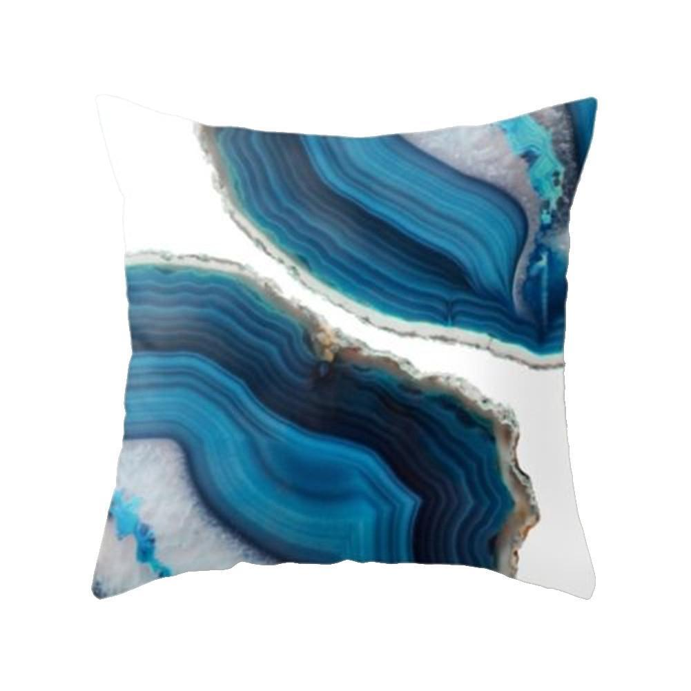 ANCRV Cushion Cover 45*45cm Polyester Fabric Stitching Color Modern Car Decorative Throw Hot Durable Style Covers Pillows W5K8