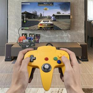 SEC New Wired USB Gamepad Joystick For N64 Classic Game Controller Joypad For Windows PC For Classic Nintendo 64 Console Games