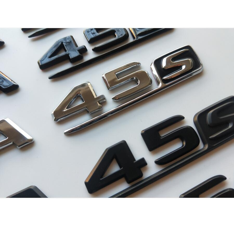"AMG /"" High quality Rear Trunk Emblem Decal Badge FOR Mercedes Benz 2018 /"" A45"