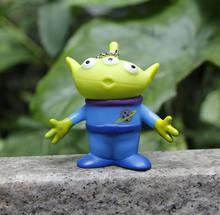 Nuevo juguete historia figura de alienígenas juguetes llavero, Buzz, Buzz Lightyear, figuras de acción figura muñeco de Anime Brinquedos niños juguetes para niños