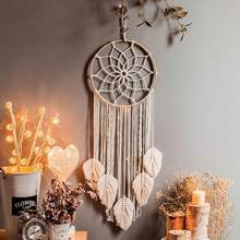 Sonho apanhador tapeçaria decoração do quarto parede pendurado decoração boho crianças sala de estar decoração da parede acessórios para casa