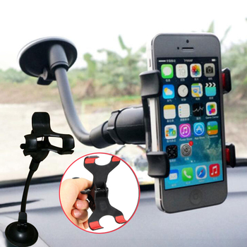 Car phone holder Car MP5 player GPS Navigation magnetic support 360° Rotating Universal Mount Holder Suction cup lazy bracket image