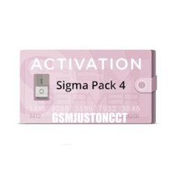 2019 Nova sigma pack4/Sigma Pacote 4 Ativação Usado para ativar a caixa e Sigma Sigma chave dongle