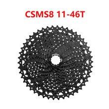 Sunrace 11 velocidade csms8 11-46t 11-51t csmx8 11-46t 11-51t relação larga bicicleta cassete bicicleta montanha bicicleta roda livre
