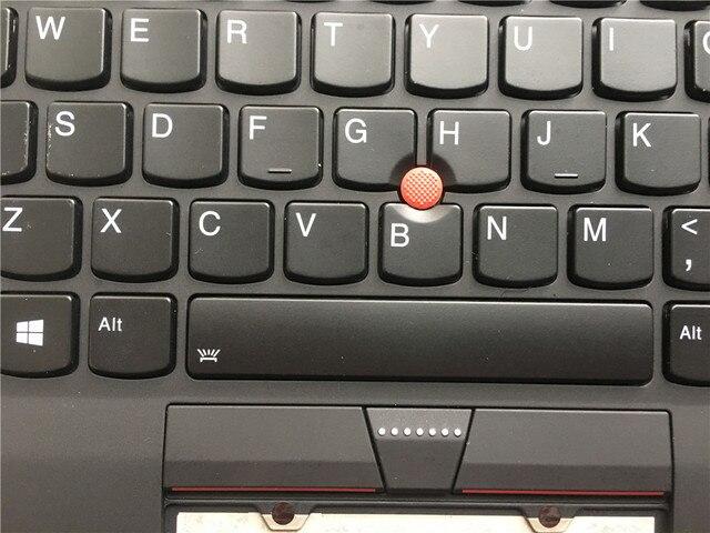 Nowy oryginalny laptop Lenovo ThinkPad X1 węgla 5th Gen podpórce pod nadgarstki pokrywa z podświetleniem US klawiatura 01LX508 01LX548 01HY027