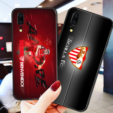 Phone Case Barega For Huawei P8 Case P9 P10 P20 P30 Black Soft TPU DIY Case For Sevilla FC Case Honor 9 V10 Y5 Y6 Y9 Y7 Y9 waveshare ov5647 night vision camera board for raspberry pi green multi colored