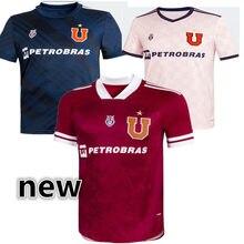 Camiseta De fútbol para hombre, Camisa de la Universidad De Chile, 21, 22, LARRIVEY, henarquez, 2021