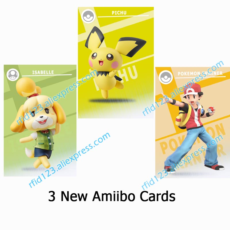 23Pcs/lot Full Set NFC PVC Tag Card ZELDA BREATH OF THE WILD