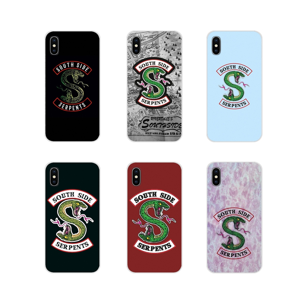 Cell Phone Shell Case For Samsung Galaxy A3 A5 A7 A9 A8 Star A6 Plus 2018 2015 2016 2017 American TV Riverdale SouthSide Serpent image