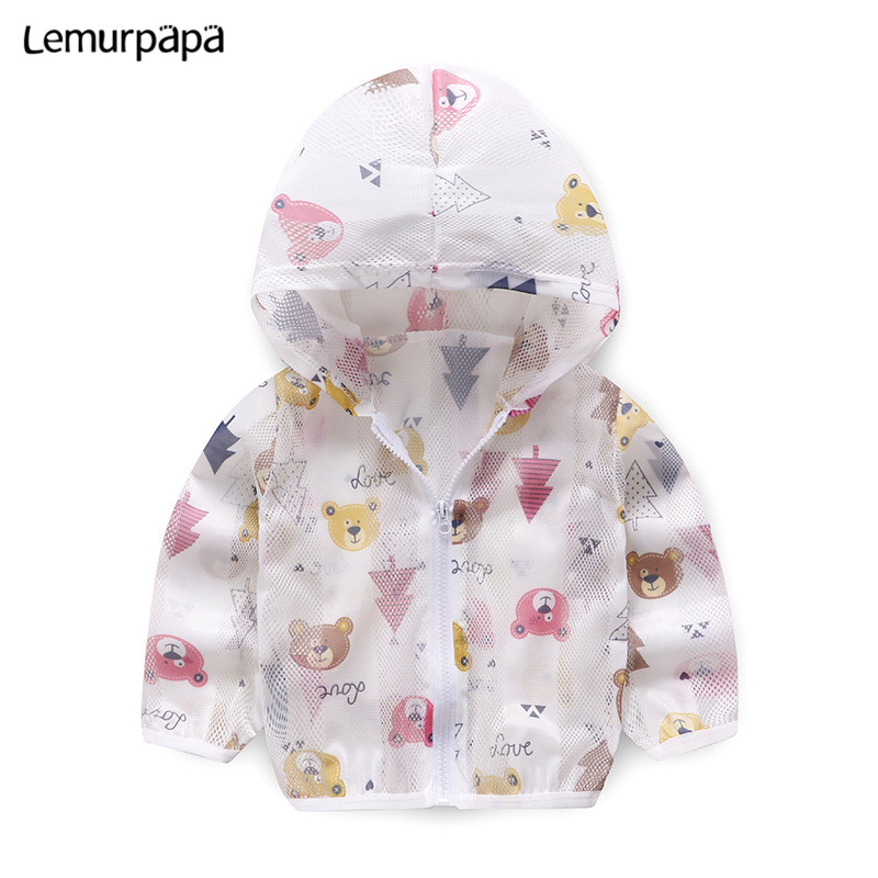 Baby Boy Clothes Hoodie Prevent Mosquito Bites Ropa Bebe Sweatshirts Girl Ultra-thin Prevent Bask Hoodies Clothing
