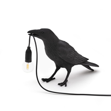 Light Fixtures Wall-Lamp Crow Bird-Stand Bedside Bedroom Home-Deco Italian Seletti Modern Led