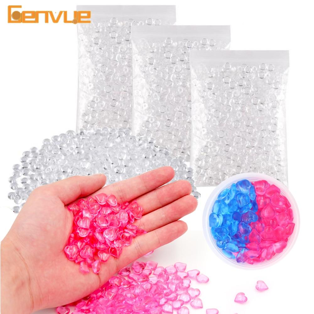 New Colorful Beads For Slime Supplies Putty Additives Filler Slime Fluffy Balls Shame For Slime Sprinkles Lizun Fish Tank Decor