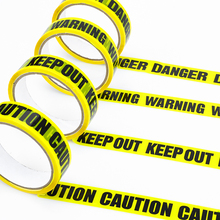 Tapes Decoration Ribbon Warning for Outdoor Scary Party 25M DIY