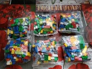 Image 4 - 1000 штук город DIY творческие строительные блоки оптом наборы Brinquedos друзья классические кирпичи развивающие игрушки для детей