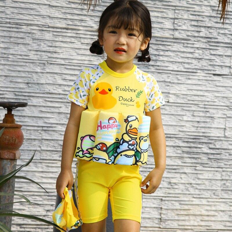 CHILDREN'S Buoyancy Swimsuit Baby CHILDREN'S BOY'S GIRL'S Girls BABY'S Bathing Suit One-piece Floating Bathing Suit Swimwear