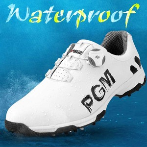Image 3 - を PGM ゴルフシューズ男性アンチスキッドスパイク防水スニーカー通気性のスポーツトレーナー靴ゴルフ chaussure zapato ゴルフスニーカー