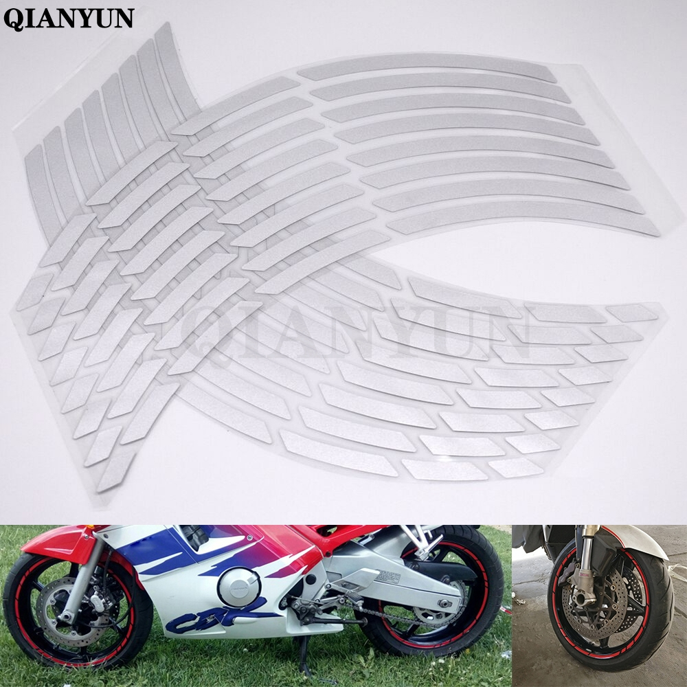 Thin Outer Rim Liner Stripe for Yamaha FZ09 MT09 Tracer Reflective Red