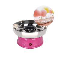 GZZT Mini Candy Foss Maker IT MF08 Cotton Candy Machine For Stock 420w Pink Candy Foss Tool