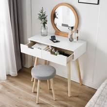 Espelho de vaidade mesa criativo atividade espelho móveis quarto principal quarto principal maquiagem mesa nordic homedress