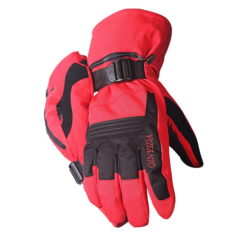 Winter Male / Female Fleece Waterproof Snow Riding Gloves Ski Gloves Snowboard Gloves Touch Screen Motorcycle Warm Gloves