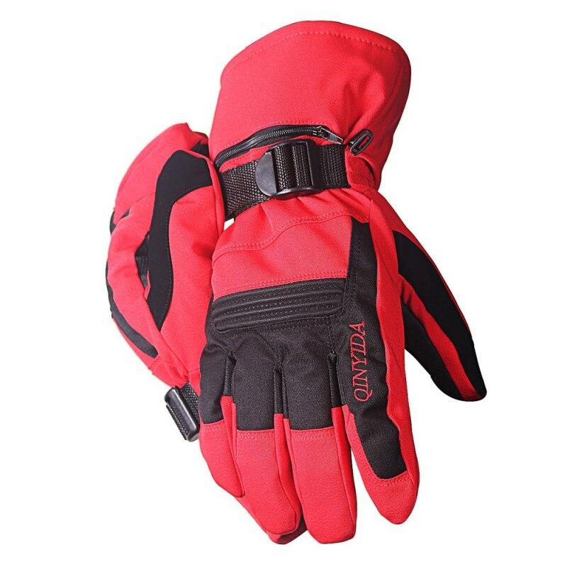 Winter Male / Female Fleece Waterproof Snow Riding Gloves Ski Gloves Snowboard Gloves Touch Screen Motorcycle Warm Gloves