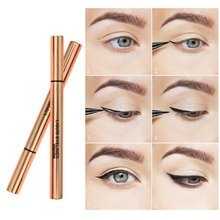 Waterproof Long Lasting Black Liquid Eyeliner Pencil Makeup Eye Liner Pen Makeup Smooth Fast Dry Eye Cosmetic недорого
