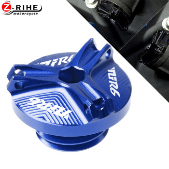 цена на For Yamaha YZF-R6 YZFR6 YZF R6 1999 2000 2001 2002 2003 2004 2005-2016 Motorcycle Fixed Engine Oil CUP Cover Screw Reservoir Cup