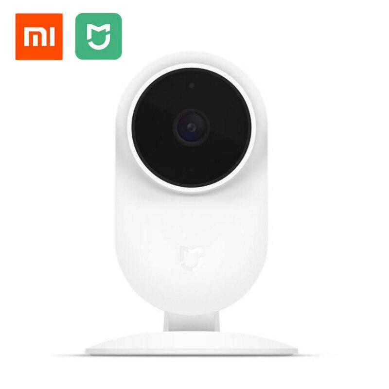 Original Xiaomi Mi Mijia 1080P Smart ip Webcam 130 Degree 2.4G Wi-Fi 10m Infrared Night Vision + NAS Mic Speaker Mi Home Camear