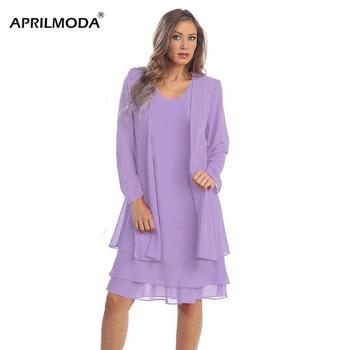 2 Piece Set 5XL Plus Size Women Suit Dress Long sleeve Loose White Party Chiffon Midi Dress Evening Large Size 4XL Vestidos 1