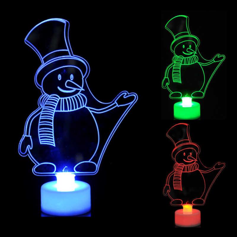 Декорационные светодиодные светильники новогодняя продукция рождественские