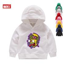 Sell Well Autumn  Cartoon Print Hoodies Sweatshirts Boy Girls Clothing Children White 3D Funny Kids 2T-8T
