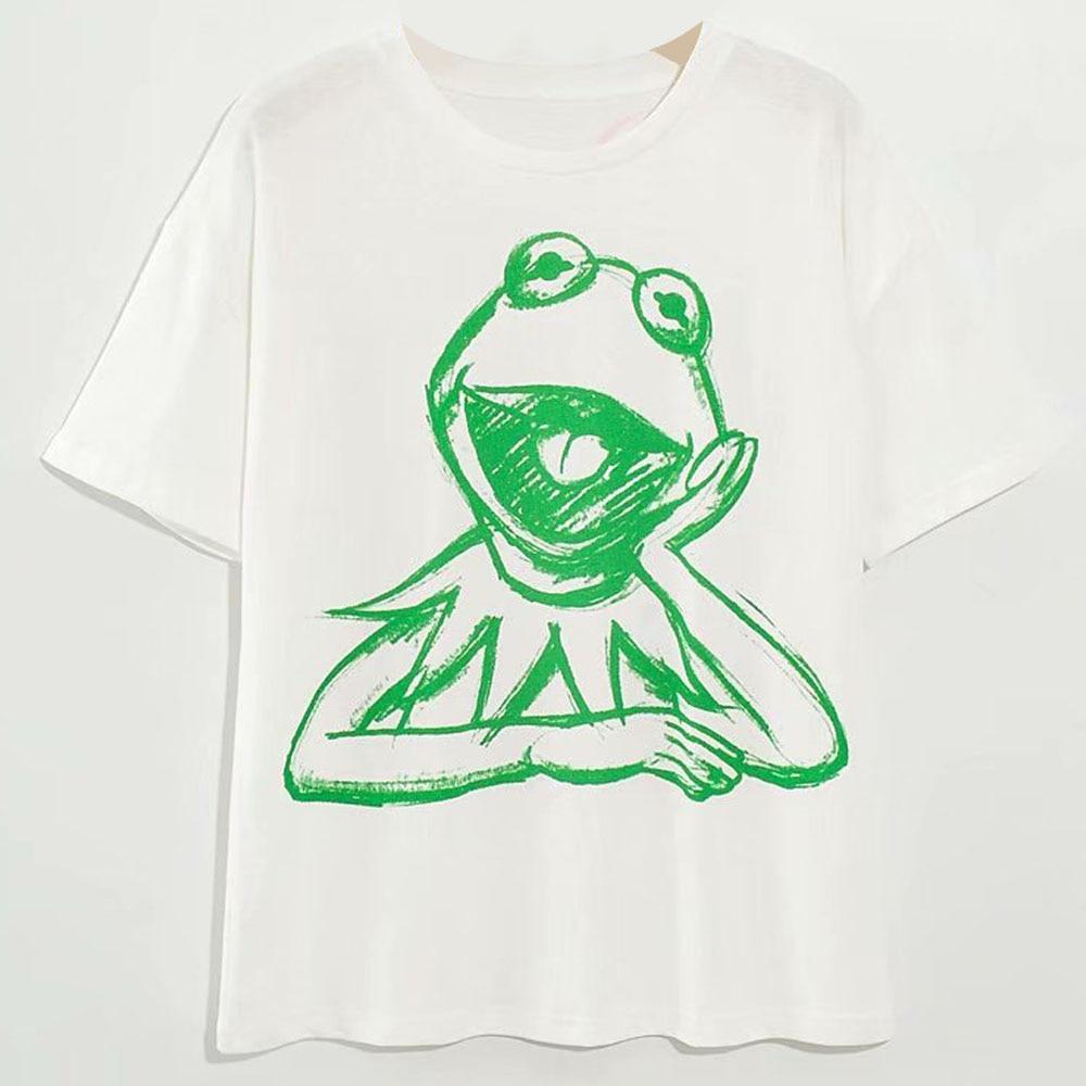 H9708ab9f496d4b148e300986ef75927f9 Disney Family T-Shirt Fashion Winnie the Pooh Mickey Mouse Stitch Fairy Dumbo SIMBA Cartoon Print Women T-Shirt Cotton Tee s