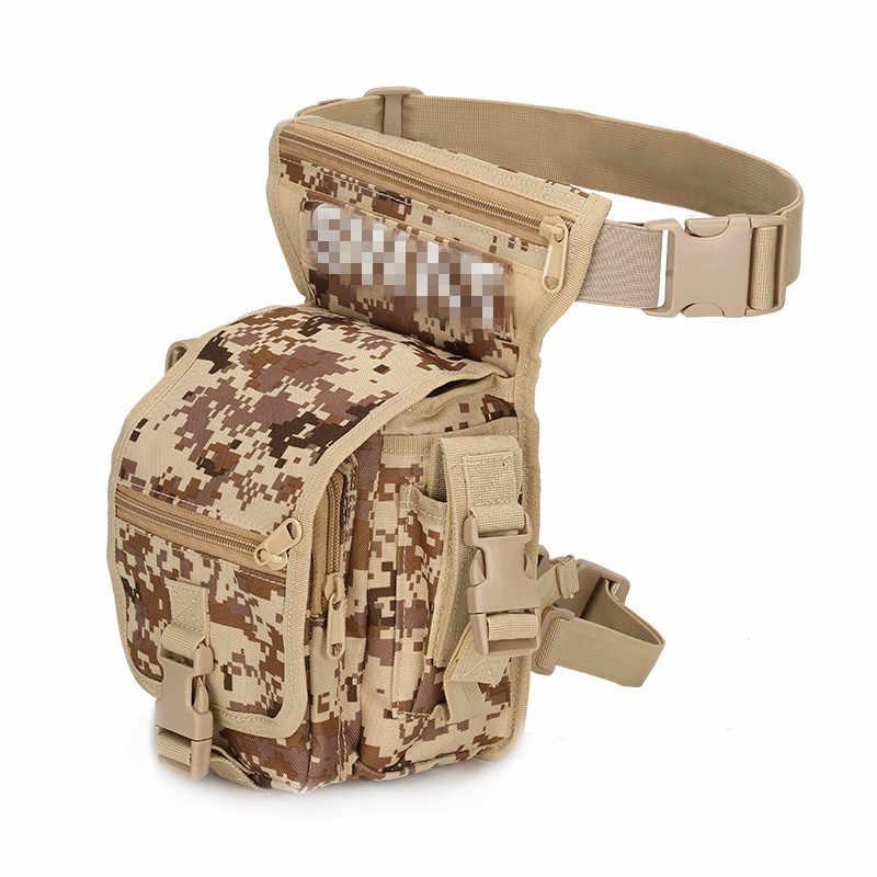 Außen Militärische Taktische Waffen Taille Beutel Bein Sport Tasche Wasserdichte Oberschenkel Drop Multi Utility Tasche
