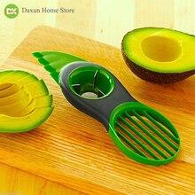 Magic Trio Avocado Peeler Slicer 3 In 1 Knife Kitchen Accessori Fruit Vegetable Tool