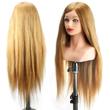 New Hair Styling Mannequin Head With Shoulder Dummy In Mannequins Hairdresser Professional 60% Animal