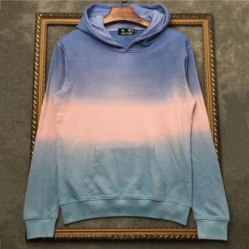 DUYOU Men Luxury Designer Fleece Hooded Sweatshirts Hip Hop Casual Hoodies Streetwear Fashion Women Hoodie DY5356