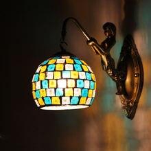 Настенные светильники tiooka e27 в скандинавском пасторальном