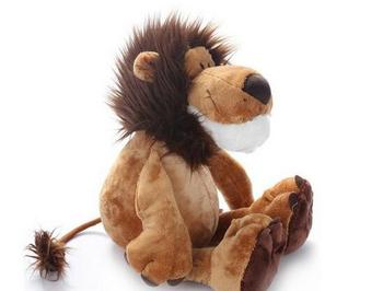 25CM Lion Elephant Giraffe Monkey Stuffed Plush Doll Jungle Series Stuffed Animals Toys for Kids Baby Children Gifts 2