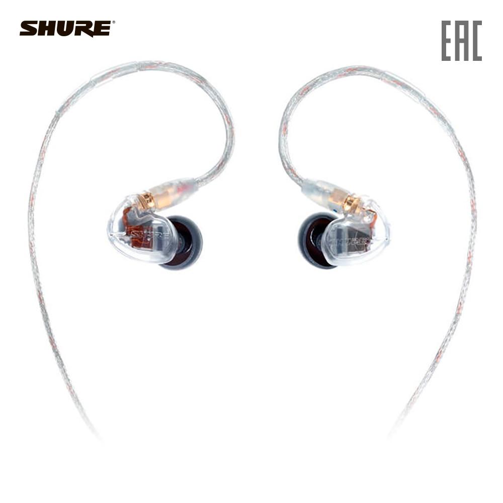 Earphones & Headphones SHURE SE425-CL-EFS Consumer Electronics Portable Audio Earphone Headphone headset for phone computer shure se425 se425 v bt1 ef