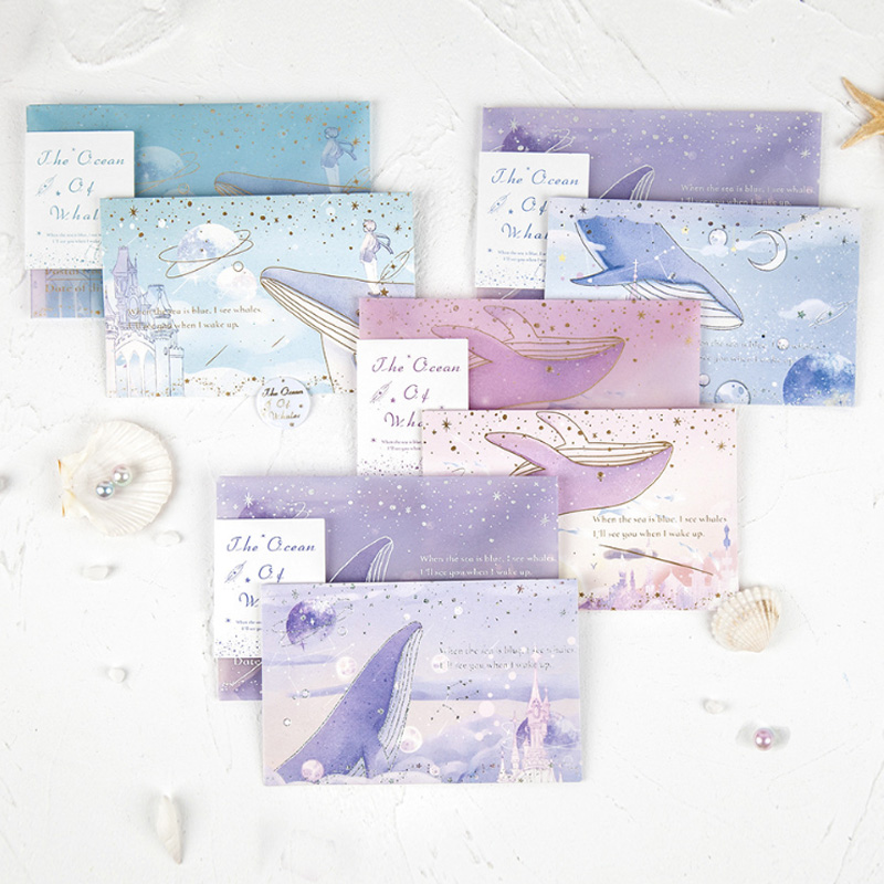 1pack/lot New Bronzed Sulfuric Acid Paper Envelope Letter Greeting Card Invitation Envelope