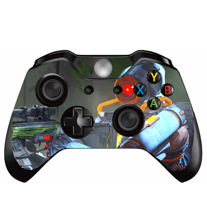 1Pcs Fortnite Sticker Decal Vinyl For Microsoft Xbox One Joystick Sticker Game Controller Gamepad Skin Sticker For Xbox One Game