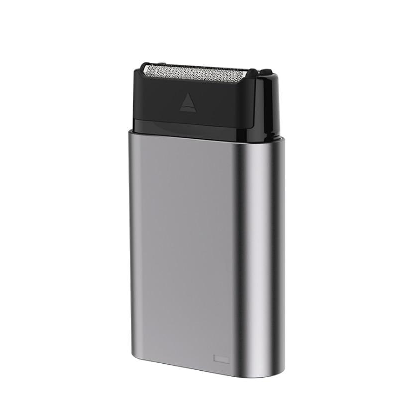 Reciprocating 2 Cutter Head Charging Razor Car Razor USB Razor Type C Charging Interface Body Wash Men's Household Shaving Tools|Razor| |  - title=