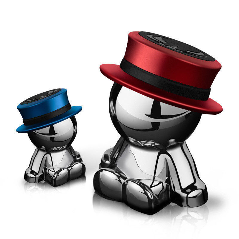 Universel magnétique voiture montage poupée forme support de téléphone portable 360 degrés Rotation Dash chapeau homme pour iPhone 8 9 Samsung S8