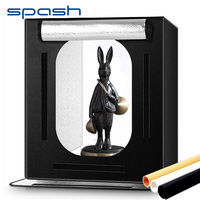 spash F60 Portable Light Box 60*60cm Folding Photo Studio Lightbox Softbox Photography Tent for Product Toy Pet Photo Shooting