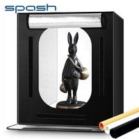 spash F60 Portable Light Box 60*60cm Folding Photo Studio Lightbox Softbox Photography Tent for Product Toy Pet Photo Shooting